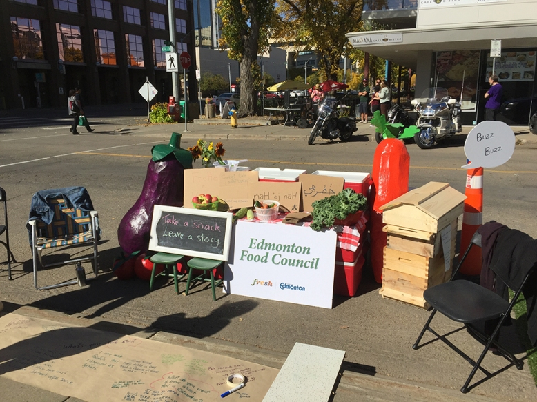 Parking Day 2016 - Food Council booth